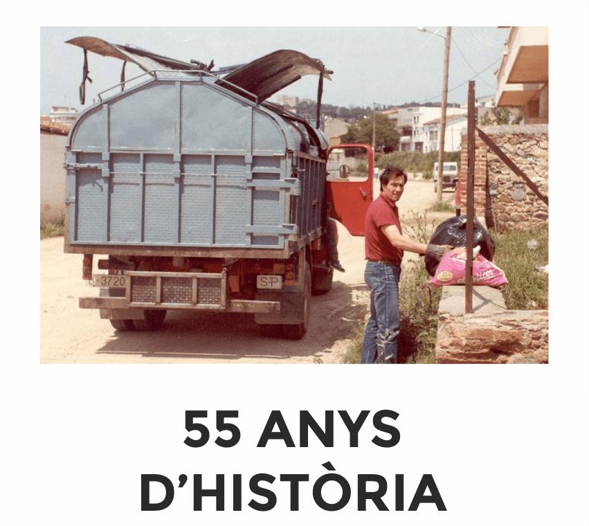 55 anys